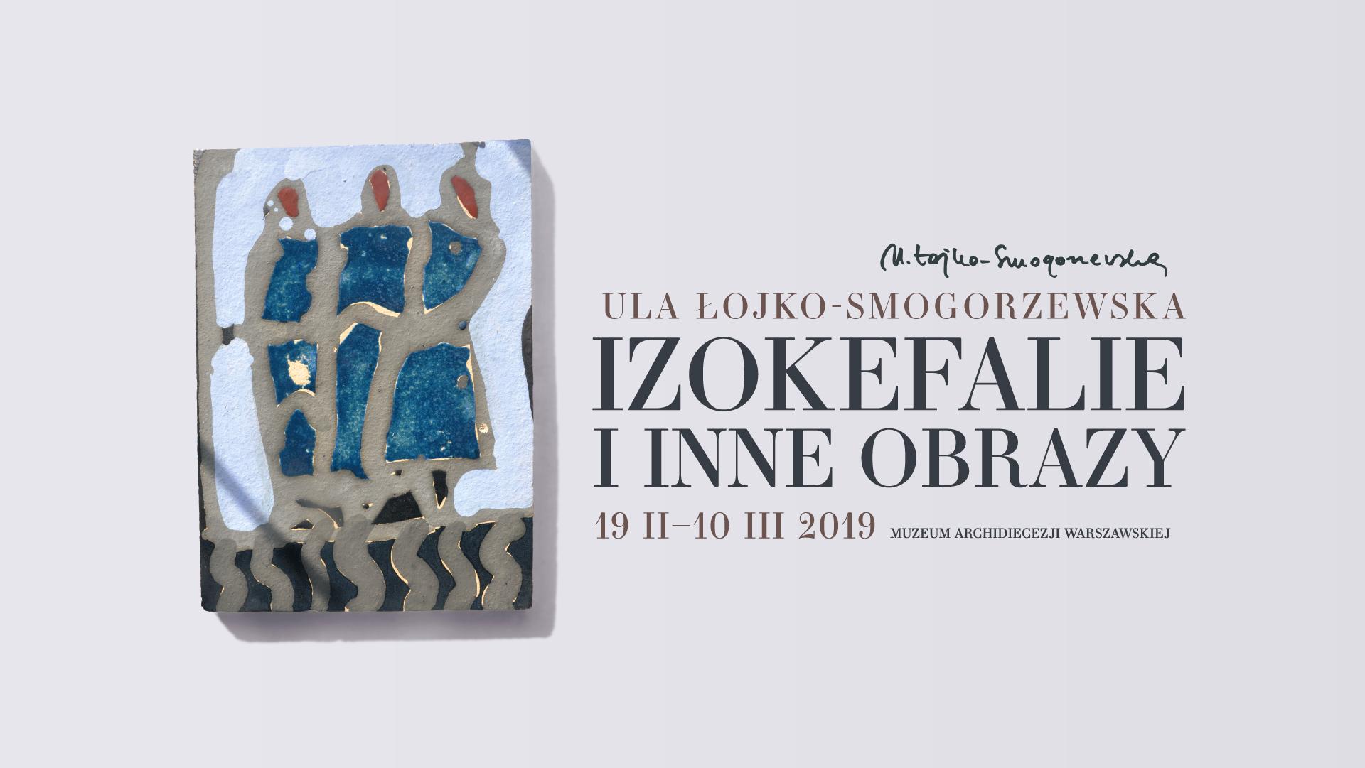 Wystawa Izokefalie - zaproszenie