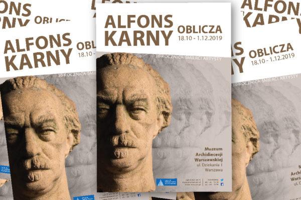 Alfons karny. Oblicza cover